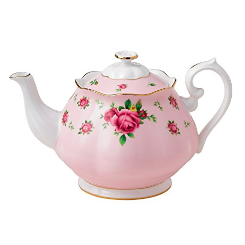 New Country Roses Pink by Royal Albert 1.25ltr Teekanne (Albert Muster)
