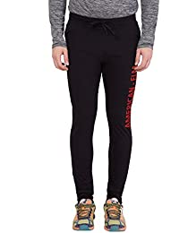 American-Elm Men's Slim Fit Printed Trackpant
