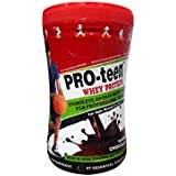 PRO-teen ,Whey Protein,Chocolate,400 Grams, 8-16 Age, 27 Vitamins And Minerals