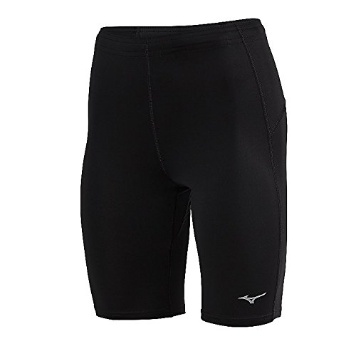 Mizuno Running Damen Core Mid Tights, damen, schwarz (Running-short Core Asics)