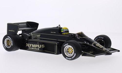 Lotus Renault 97T, No.12, Team Lotus, John Player Special, Formel 1, GP Portugal, 1985, Modellauto, Fertigmodell, Premium X 1:18 -