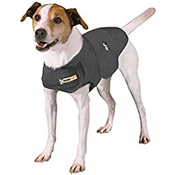 thundershirt ansiedad abrigo para perro, S, color gris