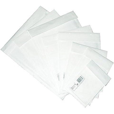 Bolsos de burbuja Bolsas de envío C/3 170 x 225 mm Selección Sobres acolchados Trifix Cierre Pegamento adhesivo Blanco - blanco, blanco, 100 Stück