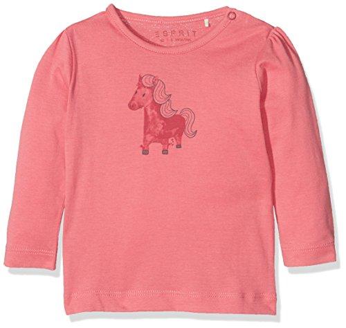 Esprit Kids Baby-Mädchen T-Shirt, Rosa (Pink 670), One size (Herstellergröße: 74)