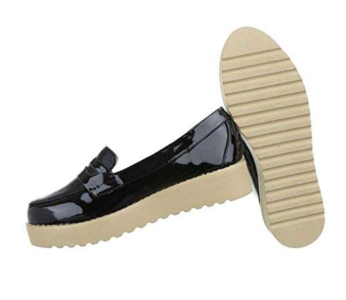 Damen Schuhe Halbschuhe Slipper Slipper Damen Halbschuhe Schwarz Schwarz Damen Schuhe Schuhe Halbschuhe Slipper 5dwqf