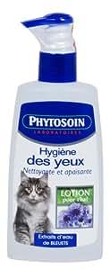 Phytosoin - 094864 - Hygiène des Yeux Chats - Pompe Dispenseur - 150 ml