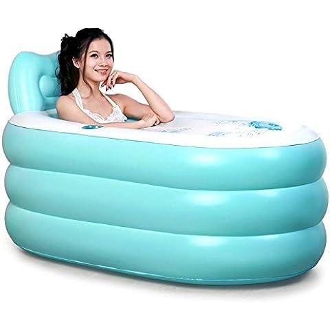LIVY Addensato in canna di adulto gonfiabile vasca vasca da bagno pieghevole canna vasca da bagno idromassaggio barilotto di plastica