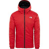 The North Face M Insulated Jk Chaqueta con Aislamiento Quest, Hombre, Rage Red Black Heather, S