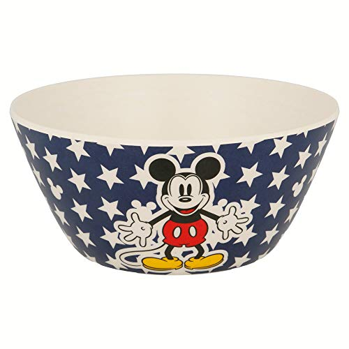 Mickey Mouse Cuenco Bambu Conico De Mickey Mouse \'All Star\', (Stor St-01322)