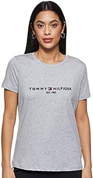 Tommy Hilfiger Women's New Ess C-Neck Short Sleeve T-S