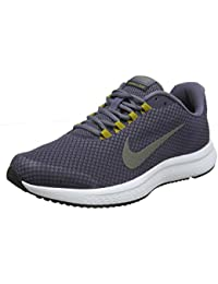 dd82a63a6ec NIKE Men s RUNALLDAY Light Carbon MTLC Pewter-Gridiron Running Shoes  (898464-017