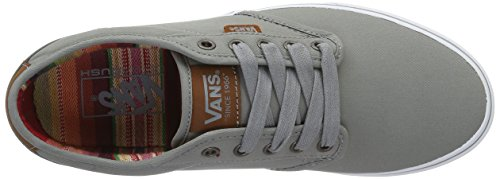 Vans Mn Atwood Dx, Sneakers Basses Homme Gris (Waxed)