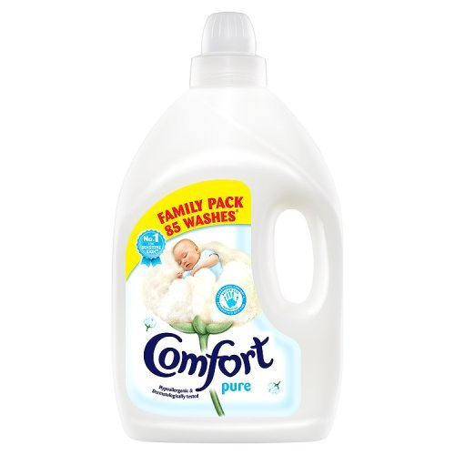 Comfort Pure Concentrate Fabric Conditioner, 85 Washes, 3L