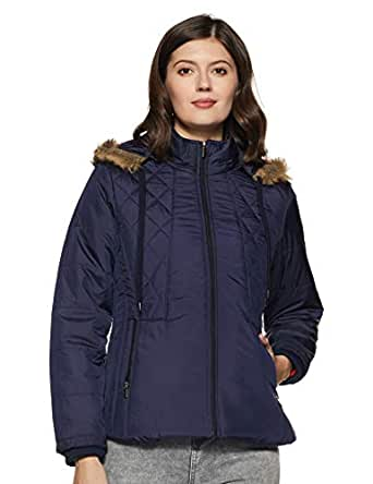 Qube By Fort Collins Women's Jacket (39225 SMU_1_Navy_XL)