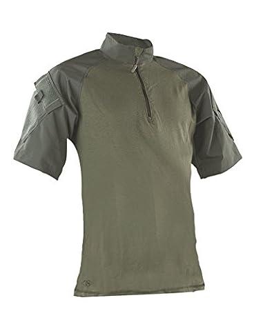 TRU-SPEC Men's Tactical Response Short Sleeve Combat Shirt, Olive Drab, 3X-Large/Regular