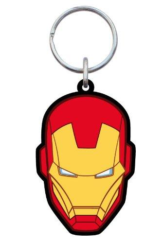 Monogram mg68128–Soft Keyring–Iron Man Face