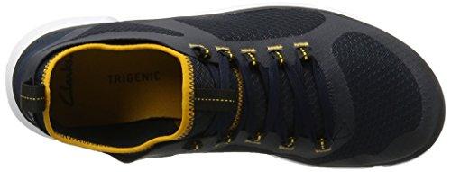 Clarks Triken Active, Sneakers Basses Homme, Various Bleu (Navy)
