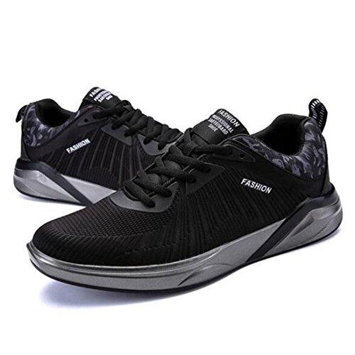 Scarpe sportive autunnali e invernali trendy scarpe da corsa traspiranti black