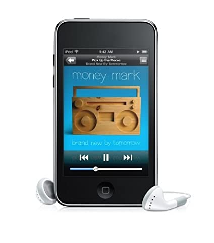 Apple iPod Touch Tragbarer MP3-Player mit integrierter WiFi Funktion 8 GB (Apple Video Ipod Touch 8 Gb)