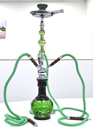 SHISHAS SMOKING HOOKAH PIPES 1 o 2 o 3 MANGUERA SMALL MEDIUM LARGE ADICIONAL GRANDES SHISHA PUFFS (DESIGN-155)
