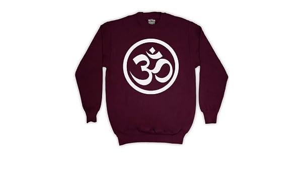 Hindu symbol om erwachsenen pullover amazon bekleidung
