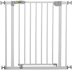 Hauck Safety Gate - Open N Stop/Close N Stop Türschutzgitter weiß oder schwarz/charcoal