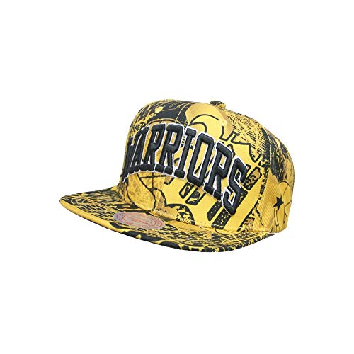 online retailer 31993 40c62 Mitchell   Ness NBA Snapback Golden State Warriors Process - Gorra
