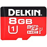 Delkin 8GB Micro SDHC Class 10Speicherkarte