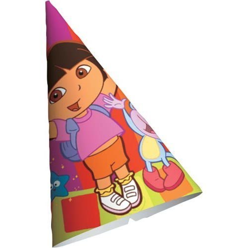 Dora Star Catcher Cone Hats - 8 Count by Unknown (Dora Star Catcher)