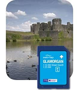 Satmap MapCard: Glamorgan (OS 25k, 10k)