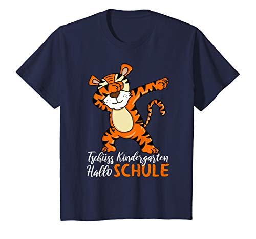 Tiger Outfit - Kinder T-Shirt Einschulung Jungen Tiger Schulkind