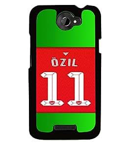 PRINTVISA Football Ozil Case Cover for HTC One X