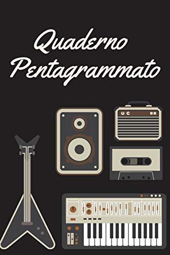 Quaderno pentagrammato: quaderno musicale