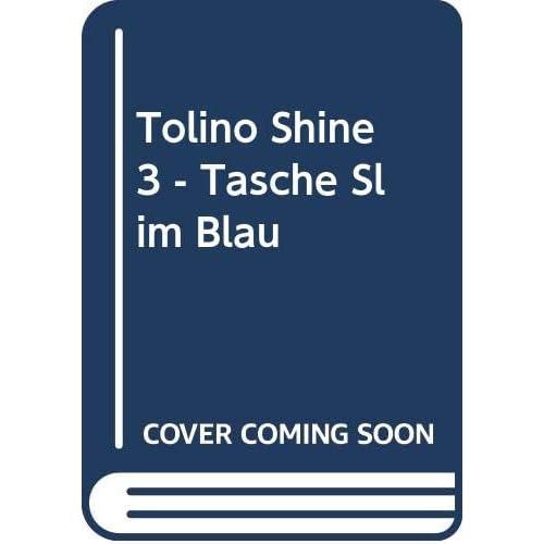 tolino shine 3 - Tasche Slim Blau