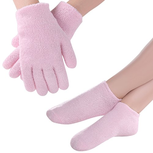 Pretty See Guantes Calcetines Humectantes Multifuncionales