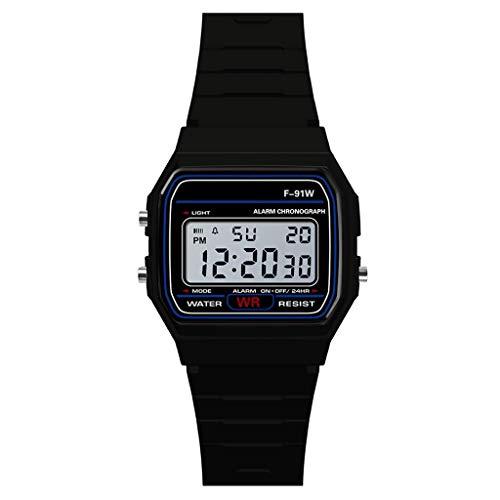 NEEKY Herren Armbanduhr,Sportuhren,Smartwatch,Für Unisex Fitness Uhren - Wasserdichte für Schrittzähler Analog Digital Sport LED Damen Watch
