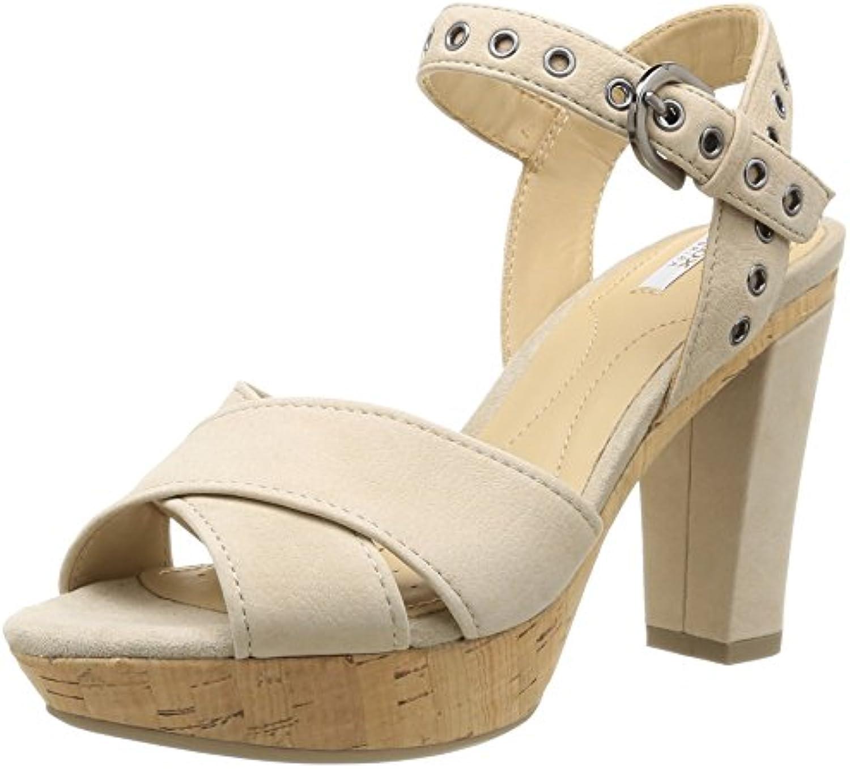 Geox D Heritage A Damen Sandalen 2018 Letztes Modell  Mode Schuhe Billig Online-Verkauf