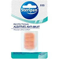 Steripan Protections Auditives Anti-Bruits 2 Paires Lot de 2