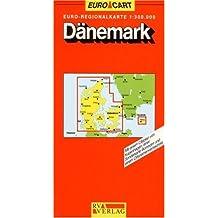 Carte routière : Danemark