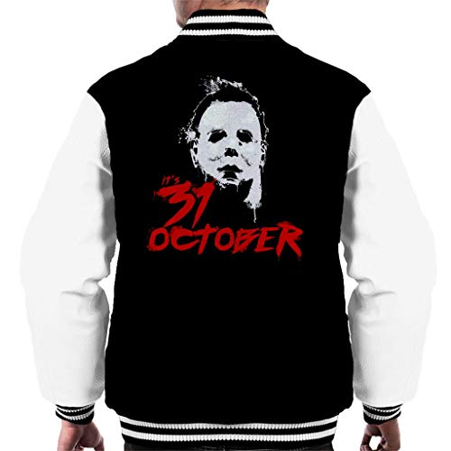en Michael Myers Its 31st October Men's Varsity Jacket ()