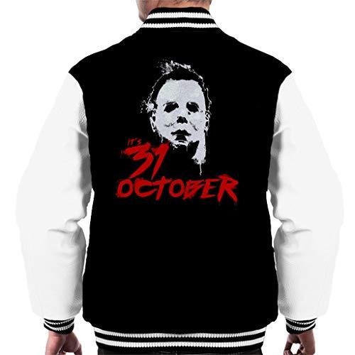 Cloud City 7 Halloween Michael Myers Its 31st October Men's Varsity Jacket