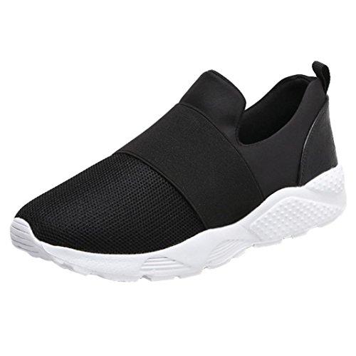 Baskets FantaisieZ Chaussures pour Femmes Fashion Flats Mesh Respirant Chaussures Sneakers de Course Décontractées Baskets Assorties Plates