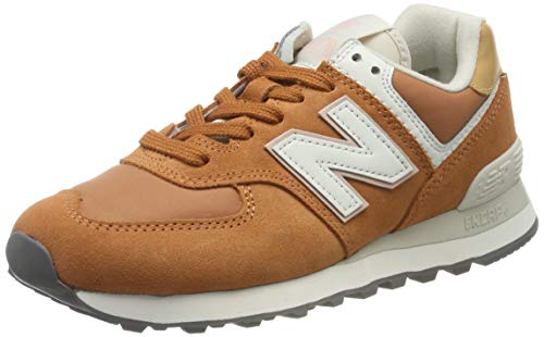New Balance 574v2, Baskets Femme, Marron (Brown Brown), 38 EU