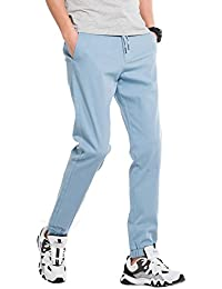 d979bcbbdb2ac3 INFLATION Casual Herren Jogger Pants Traininghose Stretch Chinohose  Jogginghose Sporthose Jogging Baggy Twill Tunnelzug Regular Fit