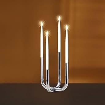led kerzen 4er set 066 31 beleuchtung. Black Bedroom Furniture Sets. Home Design Ideas