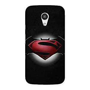 The Awesome Knight vs Day Clash Back Case Cover for Moto G 2nd Gen