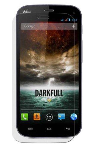 Maoni ANTIREFLEX (Anti-Fingerprint -seidenmatt) Bildschirm Schutz Folie Schutzfolien für Wiko Darkfull