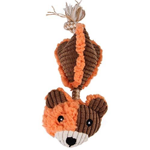 Latex-plüsch (LoveLeiter Plüschtier Hundespielzeug Rassel Kauspielzeug Zahnpflege Spielzeug Latex, Hundespielzeug interaktives Spielzeug für Weihnachten Haustier Katze Hund Spielzeug Plüsch Spielzeug Interaktive)