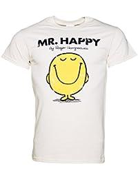 Tshirt homme pais Monsieur Madame Mr Happy Monsieur Heureux crme