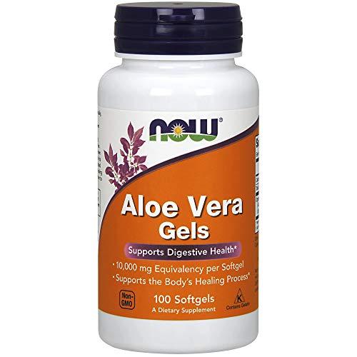 Aloe Vera 100 Kapseln (Now Foods, Aloe Vera Gel, 100 Kapseln)